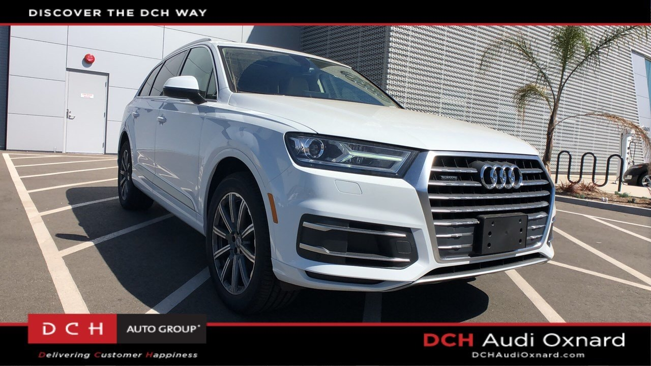 New 2019 Audi Q7 2 0T Premium SUV Glacier white metallic