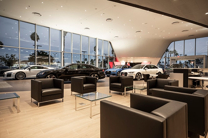 DCH Audi Oxnard Customer  Lounge