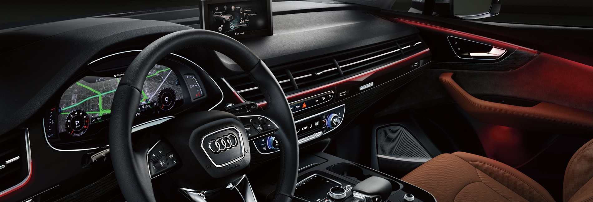 Audi Q7 Interior  Features
