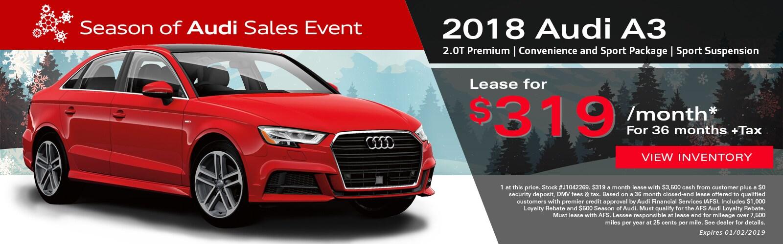 Audi Lease Specials Audi Finance Audi Palo Alto Serving San