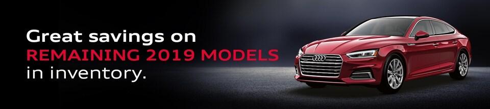 New 2019 Audi Inventory