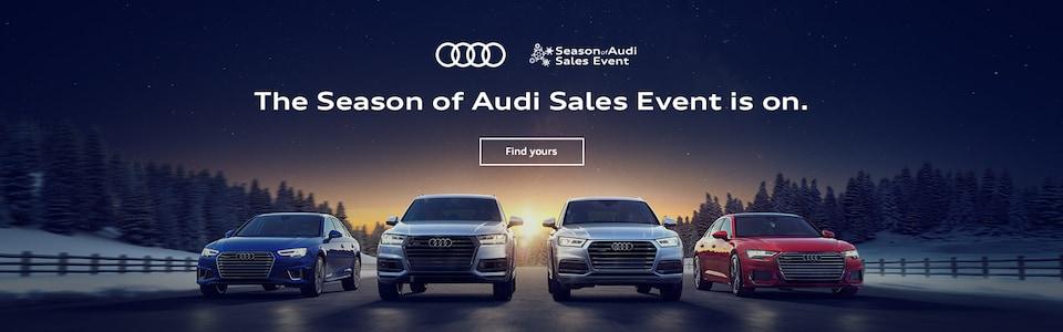Season of Audi Sales Event