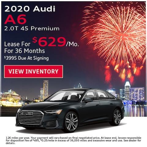 2020 Audi A6 2.0T 45 Premium