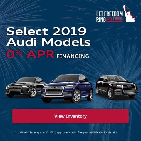 Select 2019 Audi Models