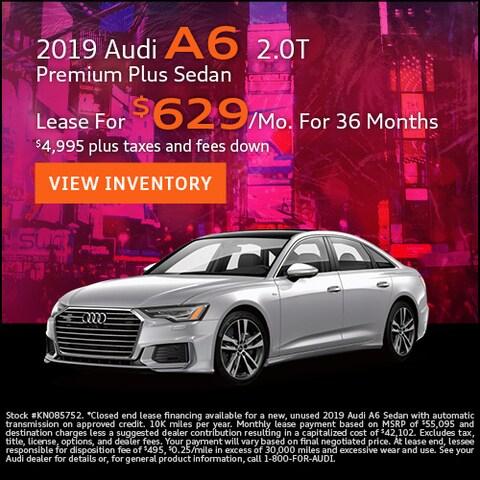 2019 Audi A6 2.0T Premium Plus Sedan
