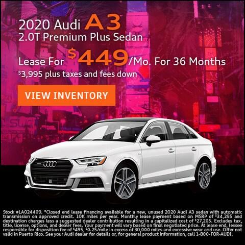 2020 Audi A3 2.0T Premium Plus Sedan