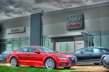 Photo Of New Audi Vehicles Outside Of Chicago, IL Dealer - Audi Peoria