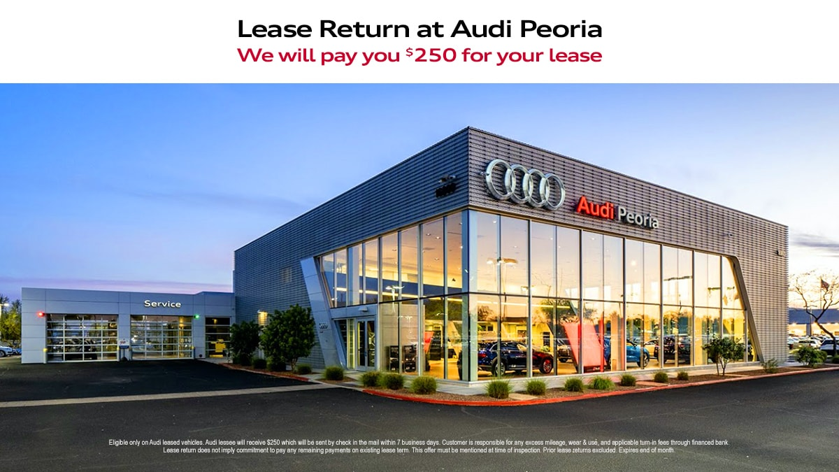 Audi Lease Return at Audi Peoria
