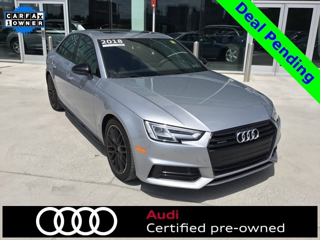 Pre-Owned 2018 Audi A4 2.0T Premium Sedan for Sale in Pittsburgh, PA