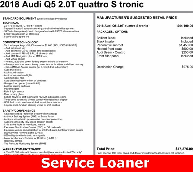 Pre Owned Audi Suv