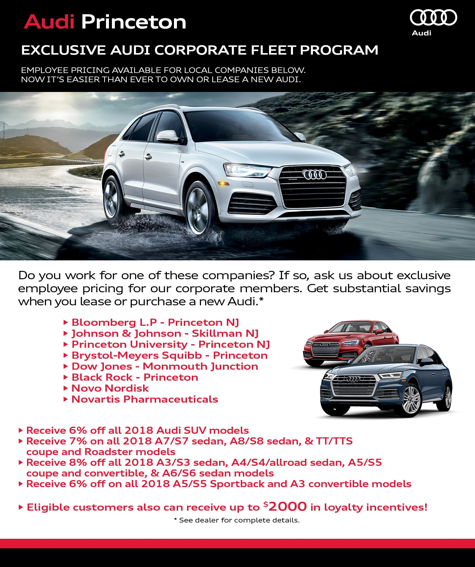 Audi Princeton