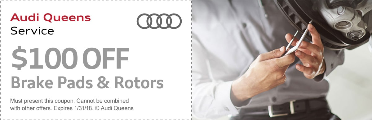 Brake Pads & Rotors Coupon
