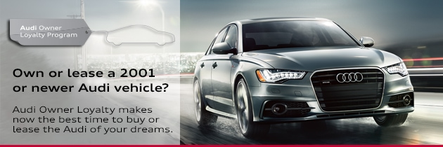 Audi Owner Loyalty Offers For Current Audi Owners In Raleigh NC - Audi loyalty