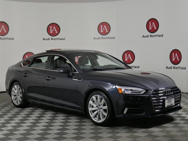 2018 Audi A5 2.0T Premium Hatchback