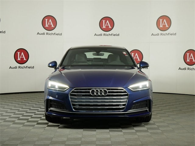 Used 2018 Audi A5 Sportback Premium Plus with VIN WAUENCF55JA007532 for sale in Richfield, Minnesota