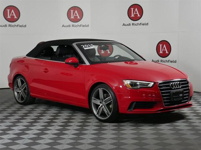 2015 Audi A3 2.0T Premium Plus Convertible