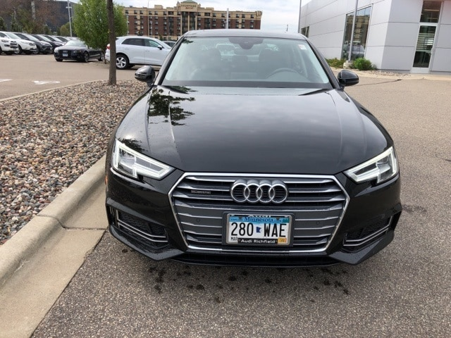 Used 2017 Audi A4 Premium Plus with VIN WAUENAF40HN002513 for sale in Richfield, Minnesota