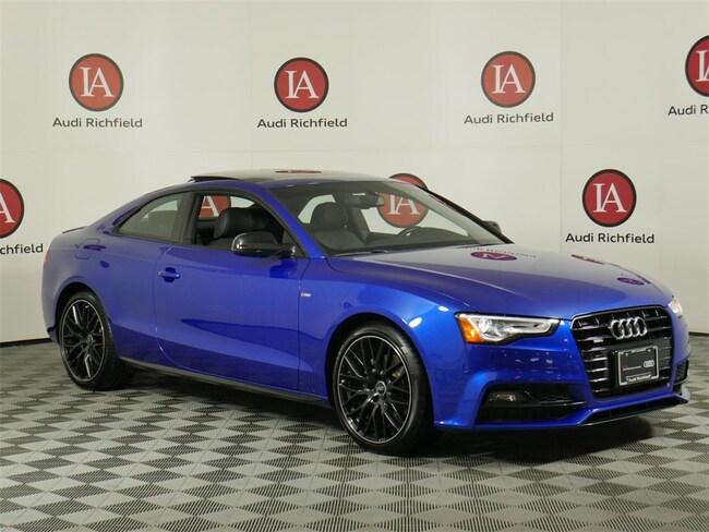 2016 Audi A5 2.0T Premium Plus Coupe