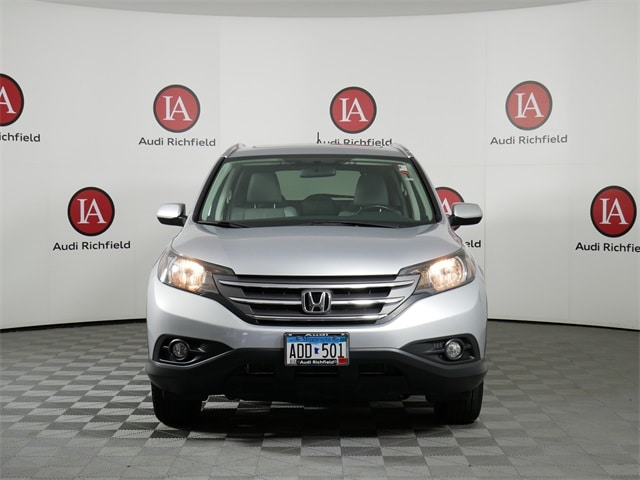 Used 2014 Honda CR-V EX-L with VIN 2HKRM4H73EH682743 for sale in Richfield, Minnesota