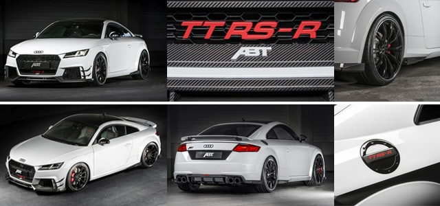 What Makes The Abt Tt Rs R Roadster Special Audi Richfield