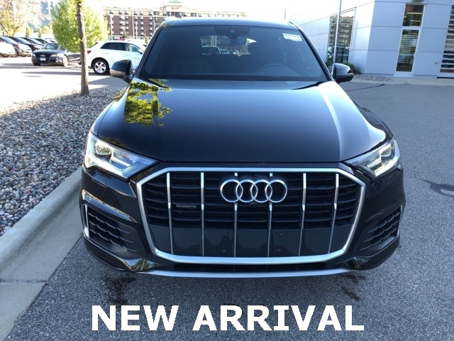 Used 2021 Audi Q7 Premium Plus with VIN WA1LXAF7XMD023037 for sale in Richfield, Minnesota