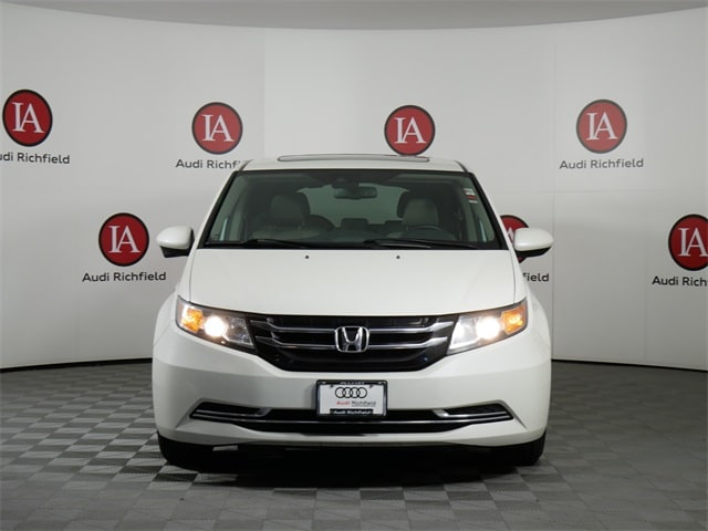 Used 2014 Honda Odyssey EX-L with VIN 5FNRL5H63EB022037 for sale in Richfield, Minnesota