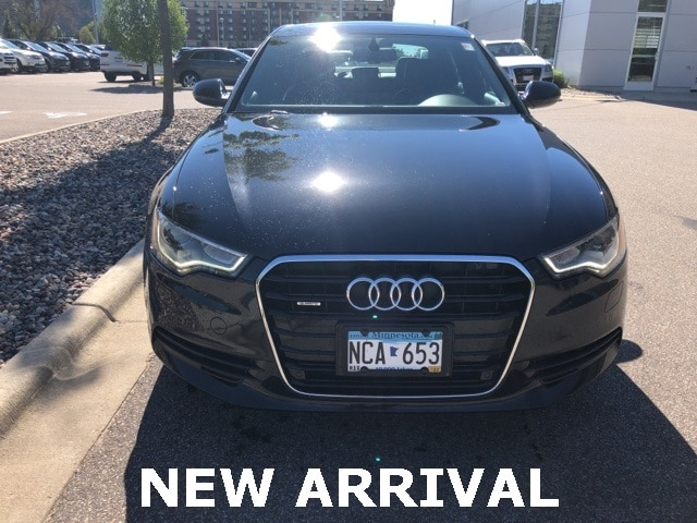 Used 2013 Audi A6 Premium with VIN WAUGFAFC7DN154540 for sale in Richfield, Minnesota