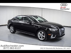 New 2019 Audi A4 2.0T Premium Sedan in Rochester, NY