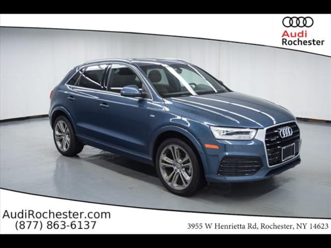 Certified Used 2018 Audi Q3 2.0T Premium SUV in Rochester NY