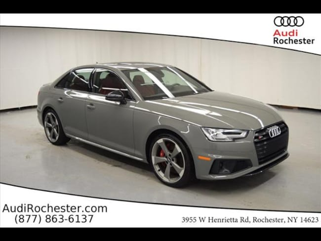 New 2019 Audi S4 3.0T Premium Sedan in Rochester