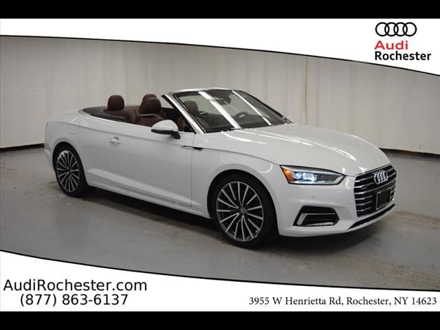 New 2019 Audi A5 2.0T Premium Cabriolet in Rochester, NY