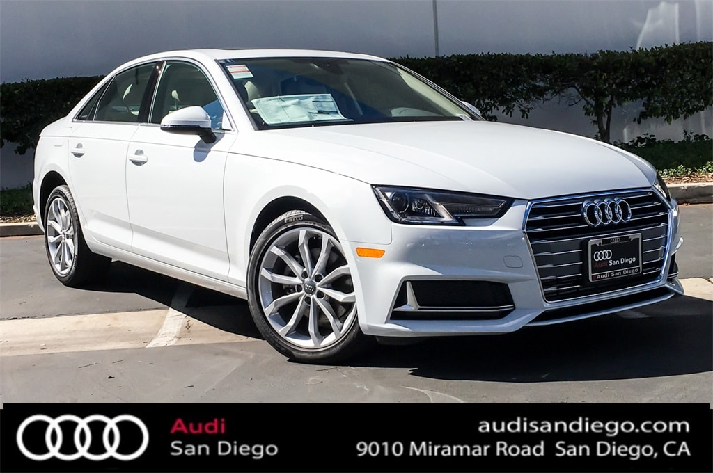 New 2019 Audi A4 For Sale at Audi San Diego | VIN