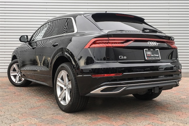 new 2019 audi q8 for sale at audi san diego vin. Black Bedroom Furniture Sets. Home Design Ideas