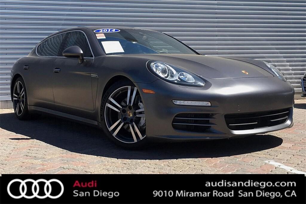 San Diego Porsche >> Used 2014 Porsche Panamera For Sale At Audi San Diego Vin