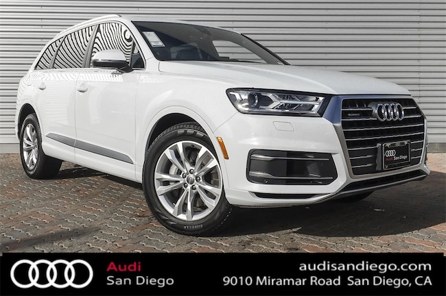 new 2019 audi q7 for sale at audi san diego vin. Black Bedroom Furniture Sets. Home Design Ideas