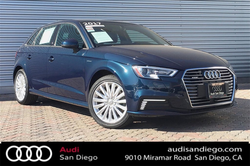 Used 2017 Audi A3 e-tron For Sale at Audi San Diego | VIN