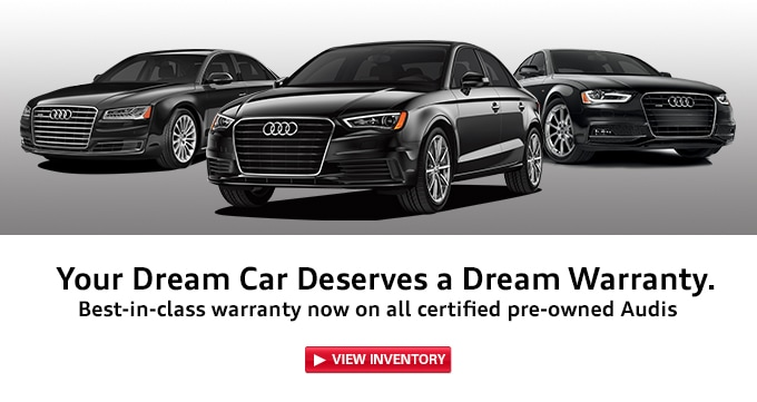 Pre Owned Audi >> Audi Certified Pre Owned Warranty Audi San Diego Serving