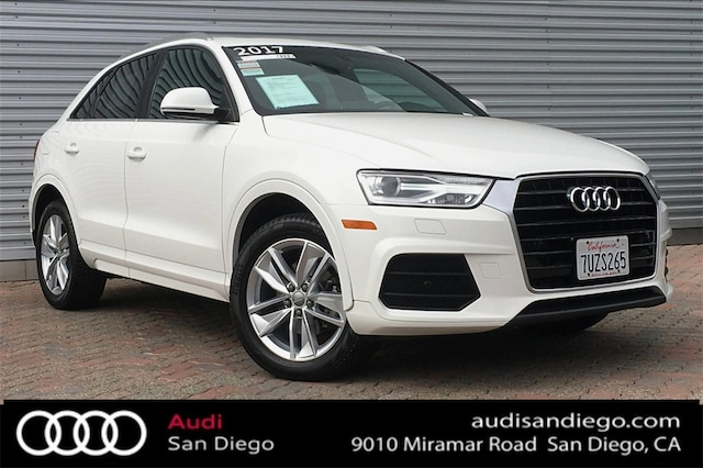 San Diego Audi >> Audi Certified Pre Owned Audi San Diego Serving Southern California