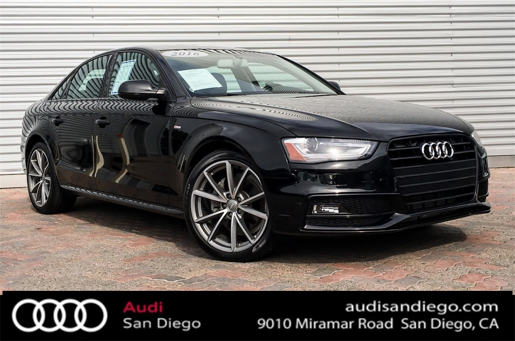 2016 Audi A4 2.0T Premium (Multitronic) Sedan