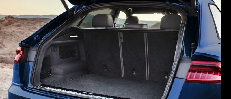 New 2020 Audi Q8 Trunk Space