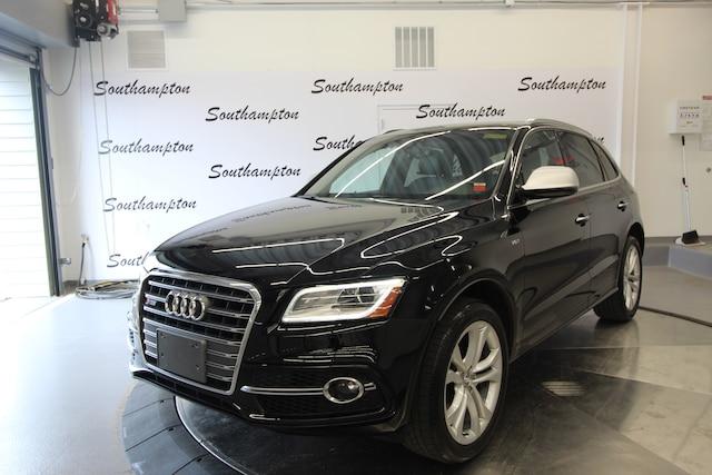Used 2016 Audi SQ5 3.0T Prestige SUV for sale in Southampton, NY