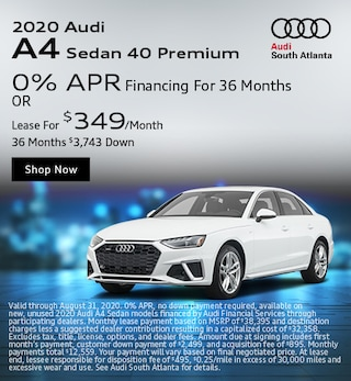 2020 Audi A4 August Special