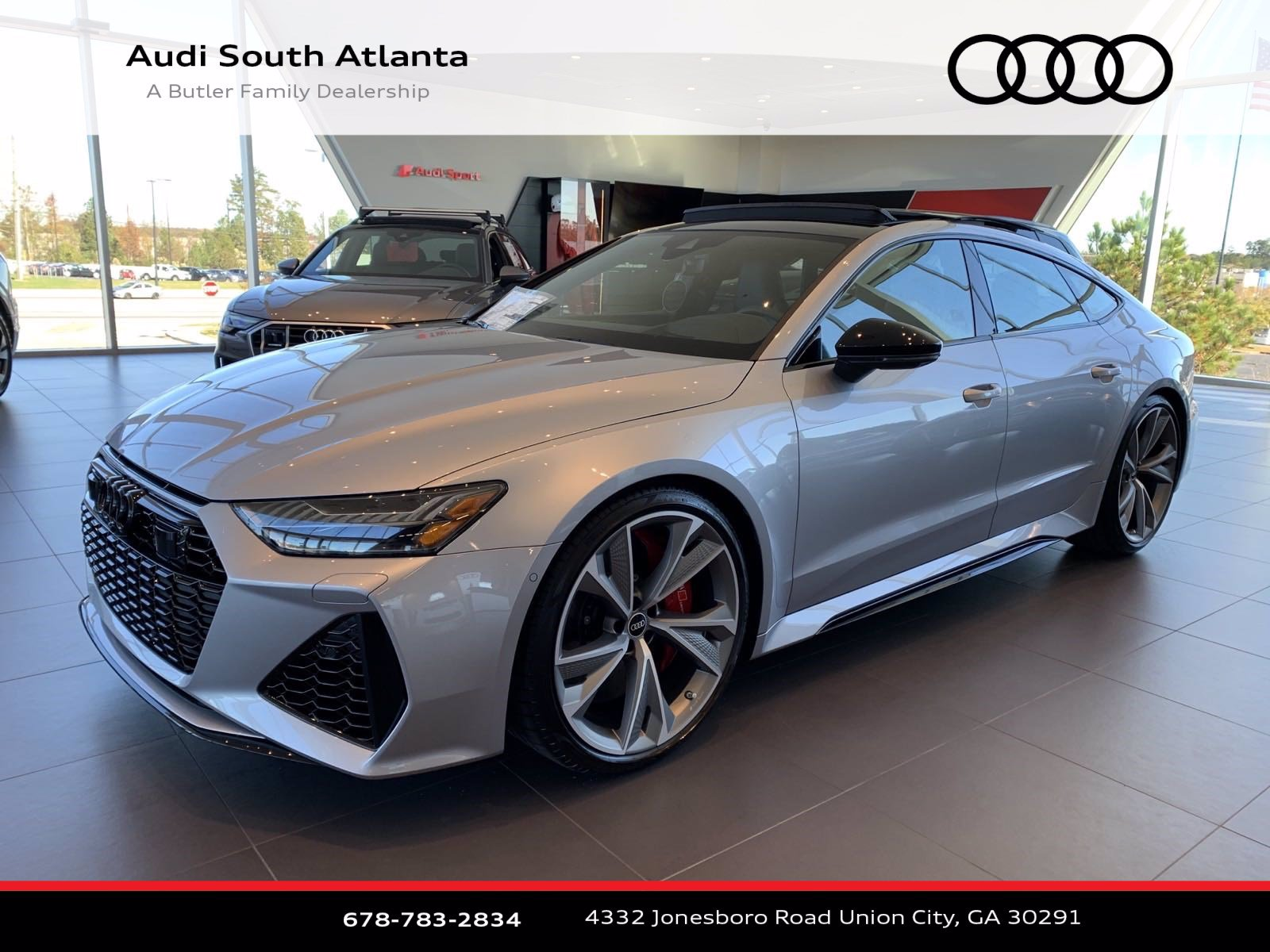 2021 Audi Rs 7 For Sale In Union City Ga Audi South Atlanta