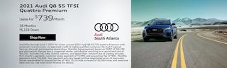 2021 Audi Q8 55 TFSI Quattro Premium   May