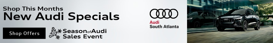 Shop This Months New Audi Specials