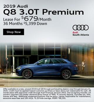 2019 Q8 3.0T Premium