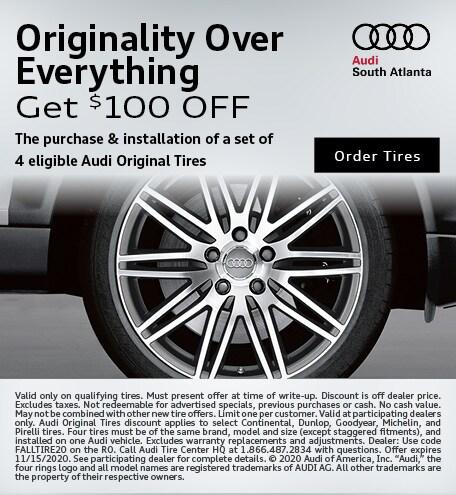Get $100 OFF Tires