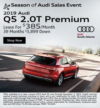 New 2019 Audi Q5 2.0T Premium - November Special