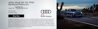 2021 Audi Q7 55 TFSI Quattro Premium   May
