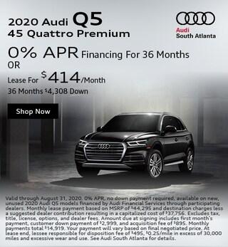 2020 Audi Q5 August Special